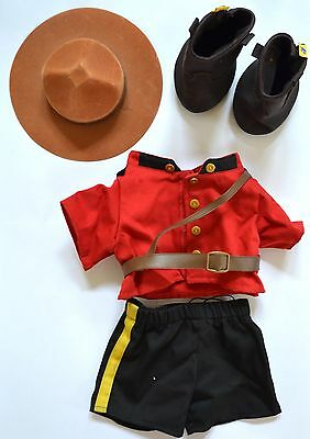 Build a Bear Outfit // Canadian Mounties Outifit