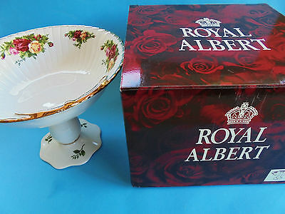 Royal Albert Old Country Roses Tall Comport Bowl New In Box