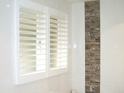 PVC Plantation Shutters $240 - Melbourne Made in 4 weeks delivery