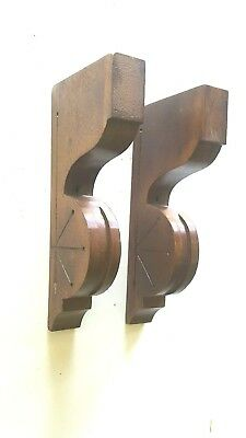 Antique Architectural Wooden Corbels