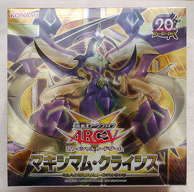 YUGIOH Arc-V Maximum Crisis Box Factory Sealed