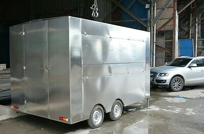 Stainless Steel  Food Consession Stand.             Local Pick Up