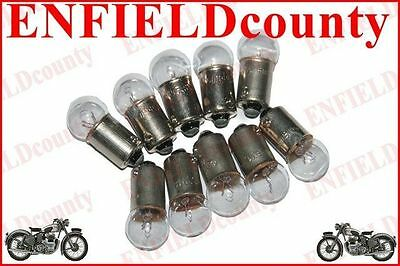 New 10 Units 12V-1.7W Motorcycle Scooter Speedometer Speedo Bulbs Ba9S-11 @cad