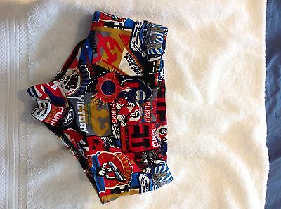 boys (size 8) funky trunks swimmers/togs/bathers - as new