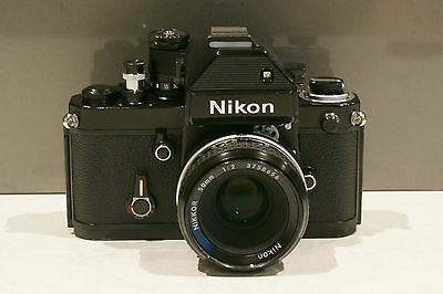 Nikon F2S with DP2 Finder and AI 50mm F 2 lens