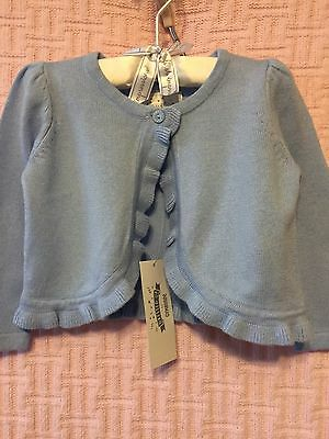 New/Tags 12-18 Month Gymboree Baby Girl's Blue Cardigan Sweater