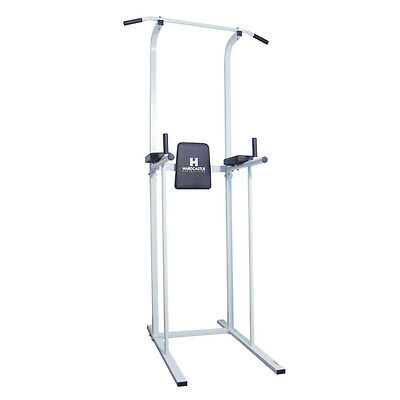 Home Gym Power Tower Dip Station Fitness Exercise Workout AB Pull&Chin Up Bar