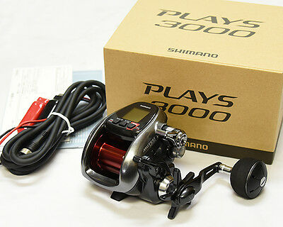 Shimano PLAYS 3000 Big GAME Electric Reel From Japan