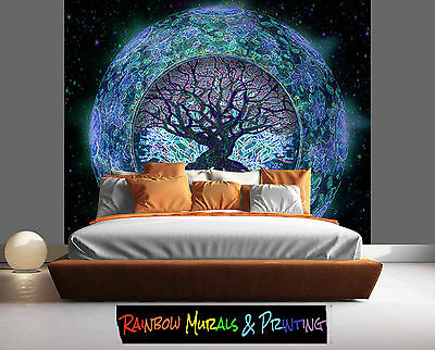 PRINTED IN AUSTRALIA Wall MURAL WALLPAPER YOUR PIC or our REMOVABLE TREE OF LIFE