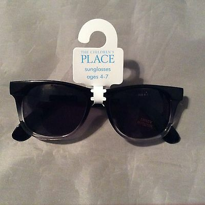 New! The Children's Place Boys Retro Sunglasses UVA protection  Ages(4-7)