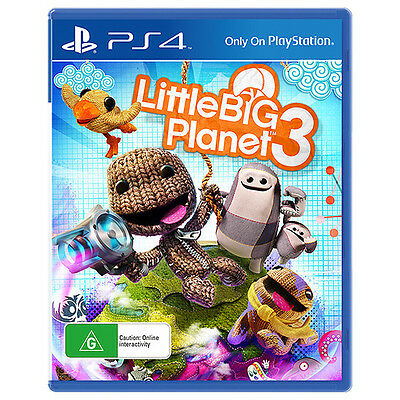 NEW SEALED LittleBigPlanet 3 (Little Big Planet 3) Sony PlayStation 4 PS4