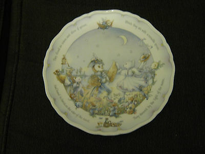 Royal Doulton The Owl And The Pussycat Christine Thwaites plate