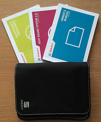 Seat Alhambra Owners Manual Handbook Pack With Wallet +Service 2012-2014 Ref2370