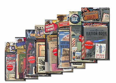 WW2 Replica Memorabilia Pack Money Saving Bundle of all 8 packs  KS2/KS3 History