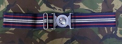 Royal Corps of Transport Chrome Buckle Stable Belt RCT