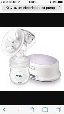 avent electric and Manual breast pump
