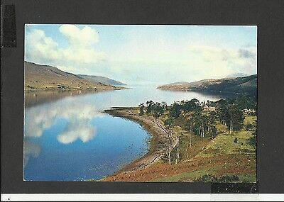 A Dixon Vintage Colour Postcard  Loch Broom from Leckmelm Ross-Shire unposted