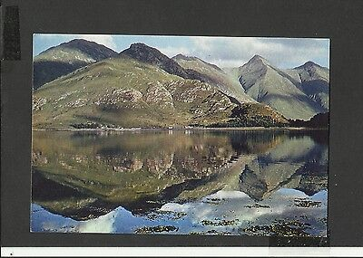 A Dixon Vintage Colour Postcard The Five Sisters of Kintail Scotland Unposted