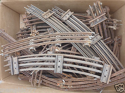 HORNBY Vintage O GAUGE 3 rail Train CURVED TRACK x 10