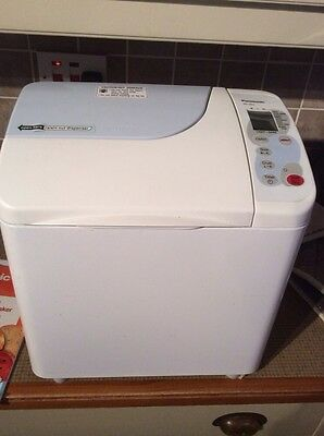 Panasonic SD 253 Automatic Breadmaker with Instruction Book