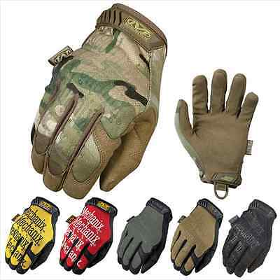 Mechanix Multicam Tactical Military Bicycle Airsoft Shooting Paintball Gloves