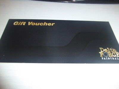 Delta Force Paintballing, Gift Voucher For 10 People