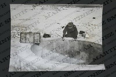 WWII Official Press Photo: The Libyan Campaign - Fig Three Wells near Sollum