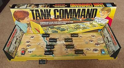 Vintage Tank Command Battle Game by Ideal Boxed