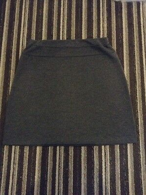 Girls Grey School Skirt From Next Size 13 Years - Excellent Condition