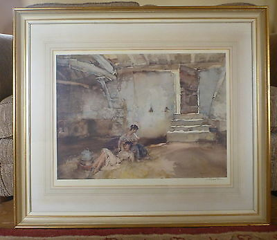 William Russell Flint - Retreat from the Sun - Signed Limited Edition Print 1962