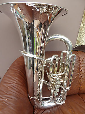 Tuba Besson Sovereign BE983 EEb front action