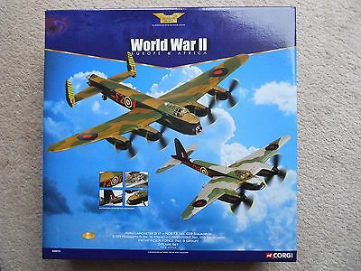 CORGI AA 99133 LANCASTER & MOSQUITO LTD ED SET - 1/72 Scale DAMAGED