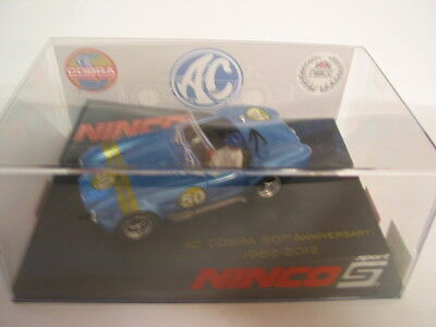 Ninco 91018 Ac Cobra Nscc 2012 50Th Anniversary 1962/2012  Mint Boxed Deleted