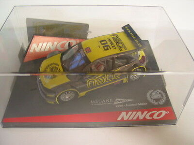 Ninco 50393 Renault Megane Nscc Limited Edition 2006 49/83  Mint Boxed Deleted