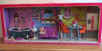 barbie doll furniture build up - Playset - New Sealed