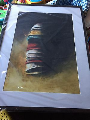 Brand New Large Abstract Framed Print