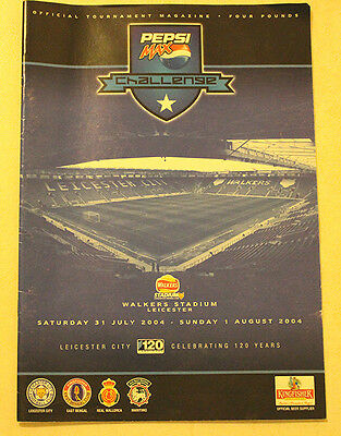 Pepsi Max Challenge Programme 2004 Leicester City