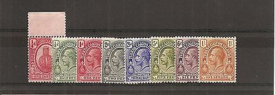 Turks and Caicos SG 154/61 L/Mint