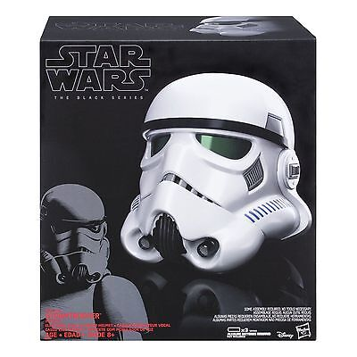 Star Wars Rogue One Stormtrooper Electronic Voice Changer Helmet New In Stock UK