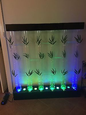 Fish Tank 6 Tubes Multi Colour Light Display With Air Pump