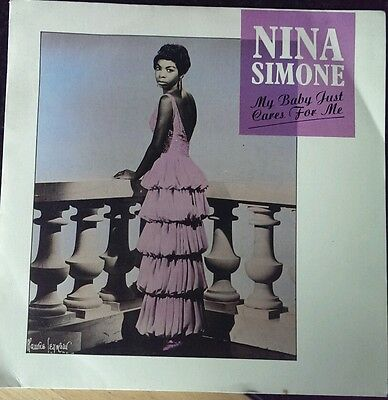 """Nina Simone, 7""""single, My baby just cares for me"""