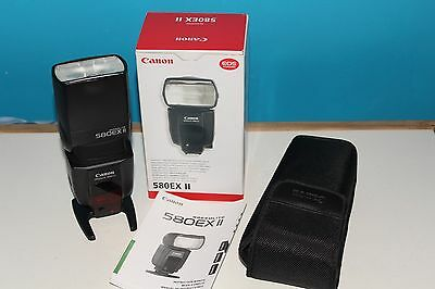 Canon Speedlite 580EX II 2 Shoe Mount Flash