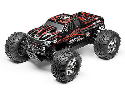 HPI Savage Flux Hp Gt-2 Painted Body (black/grey/red) #102219