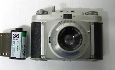 Steinette 35 mm camera fully functional, with case
