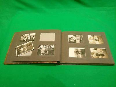 Vintage Photgraph album Lots of photos Places People Life in the 1930's History!