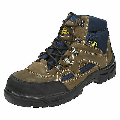 WHOLESALE Mens Hiking Ankle Boots / Sizes 8x11 / 6 Pairs / FOX SAFETY
