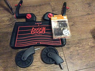 LASCAL BUGGY MINI BOARD WITH  LASCAL CONNECTORS Very Good Condition