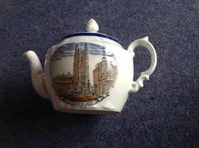 Small teapot from Wrexham