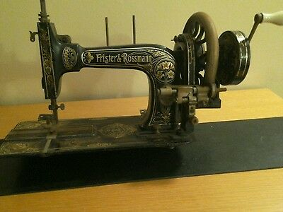 Vintage Frister And Rossman Sewing Machine -