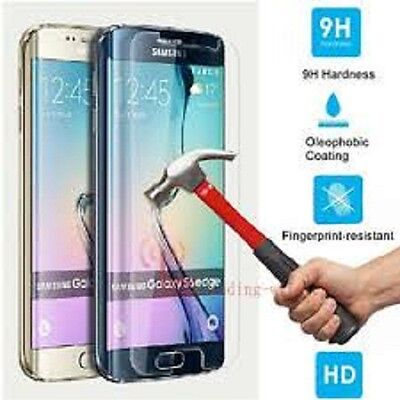 Full Curved 3D Tempered Glass Scren Protector For Samsung Galaxy S6 Edge Clear